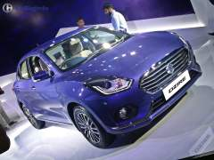 new look maruti dzire 2017 images front headlamp grille