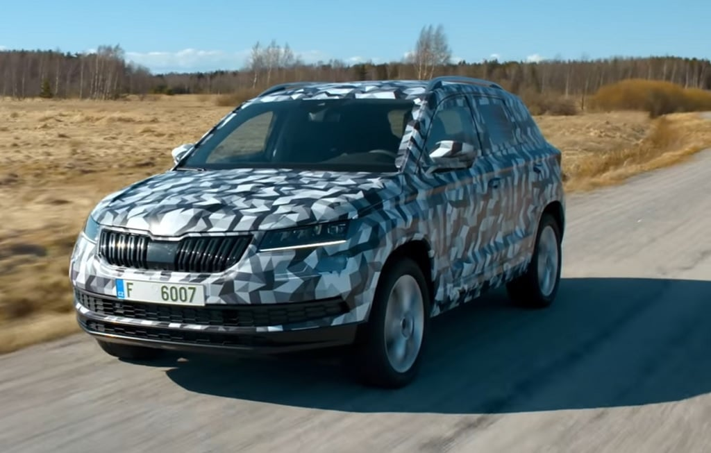 skoda karoq suv india launch date price specifications images. Black Bedroom Furniture Sets. Home Design Ideas