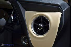 2017 toyota corolla altis test drive review ac vents
