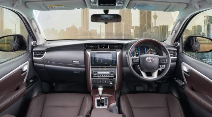 new toyota fortuner interior images dashboard