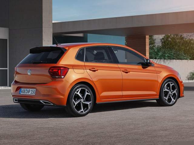 new 2018 volkswagen polo india images rear angle