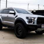Look At This Modified Ford Endeavor Made To Look Like A F 150 Raptor