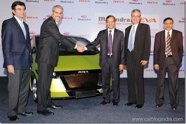 Mahindra acquires REVA
