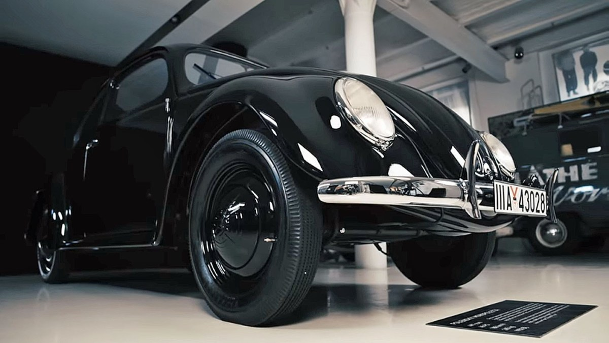 Restaurato l'ultimo Maggiolino VW appartenuto a Ferdinand Porsche (VIDEO)