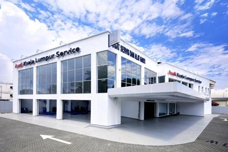 Audi Service Center in Jalan Chan Sow Lin