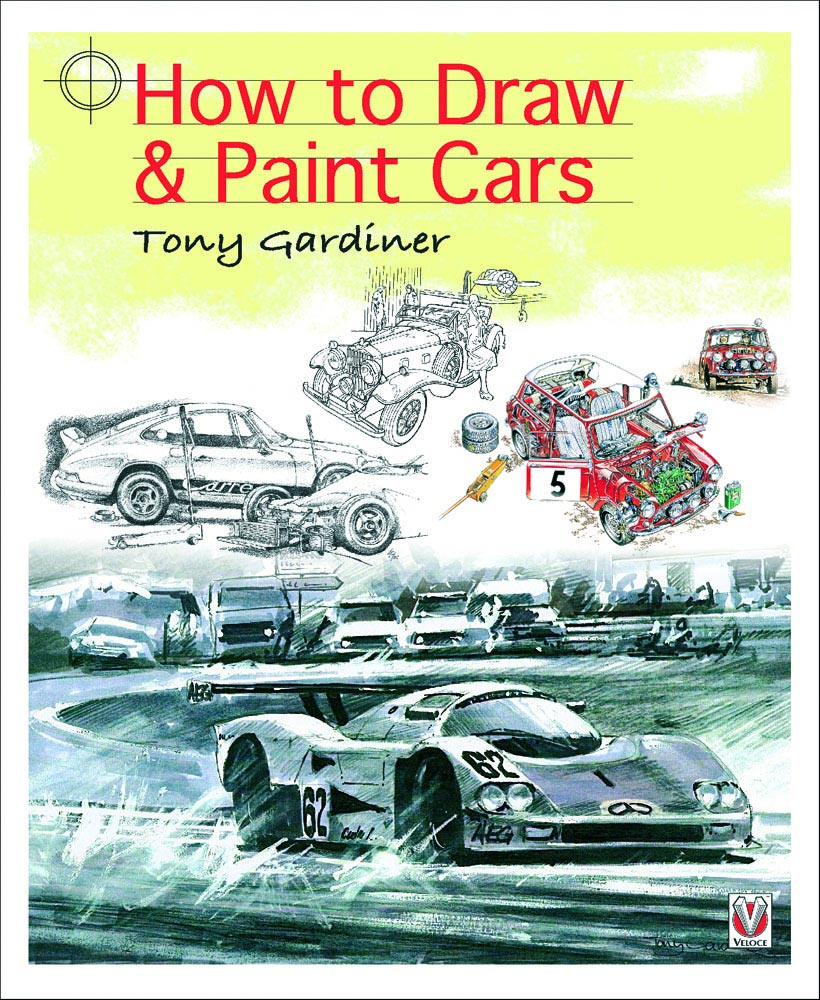 Book: How to Draw and Paint Cars - Car Body Design