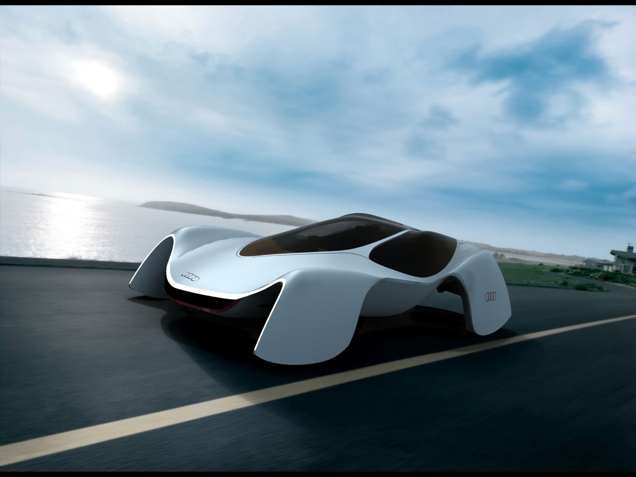Audi Avatar Concept Car Body Design