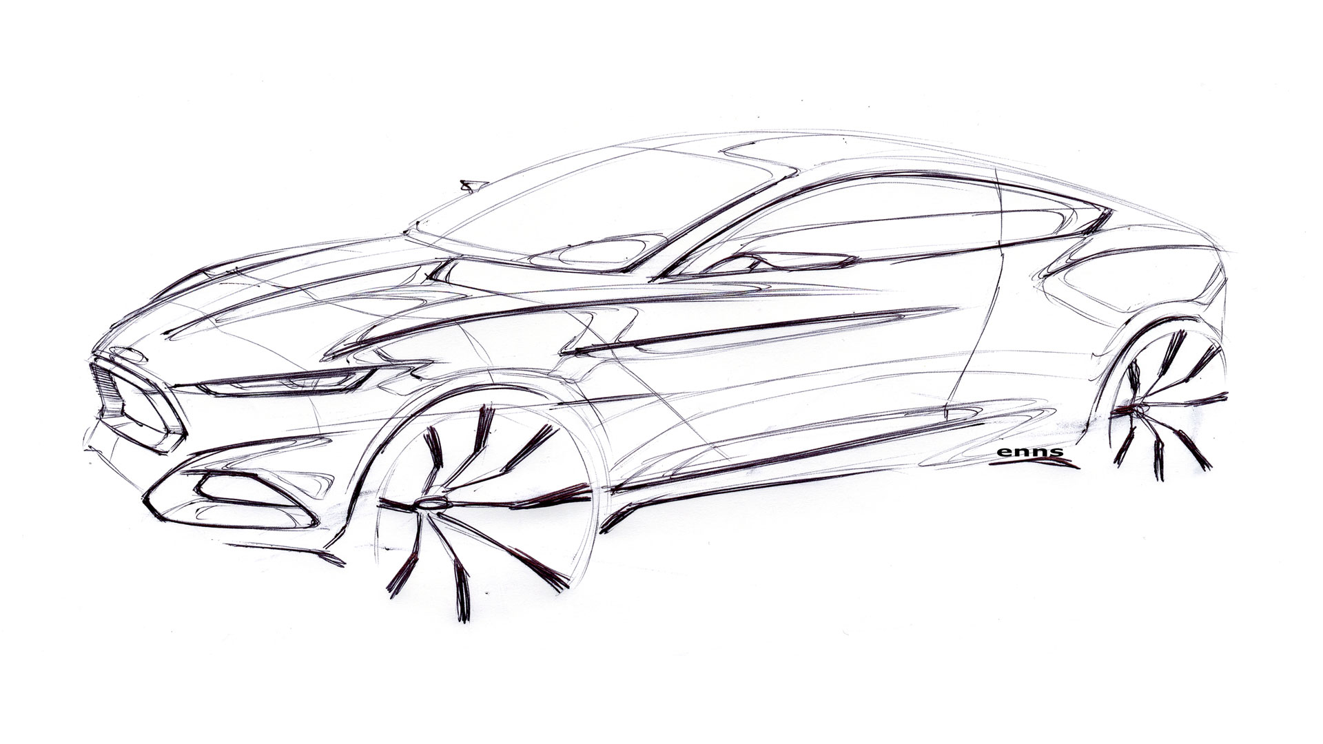 Concept Car Sketches