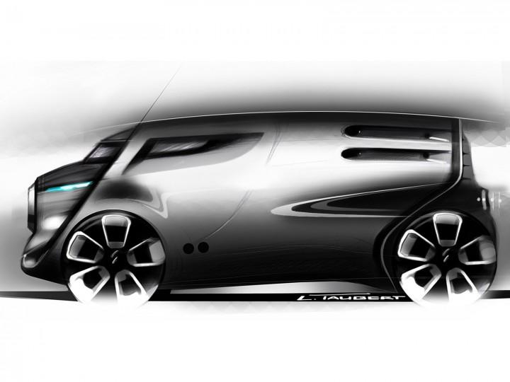 Citron Tubik Concept Design Sketches Car Body Design