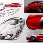 Alfa Romeo Giulia Concept Design Sketches Car Body Design