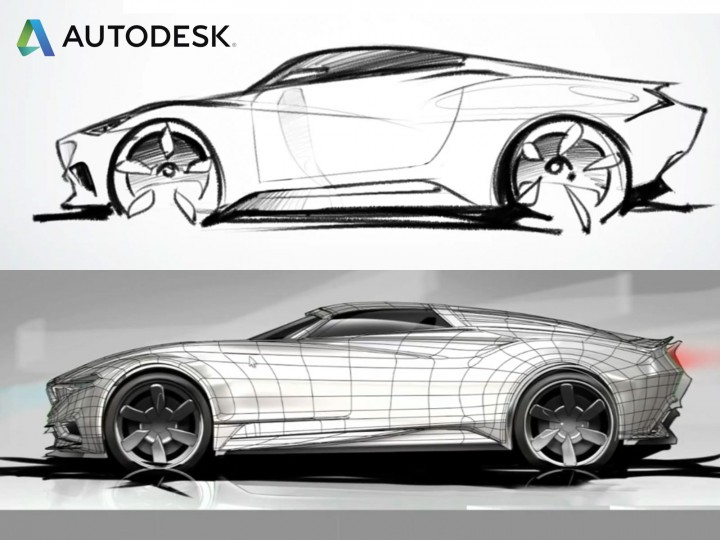 Autodesk releases automotive design showreel - Car Body Design