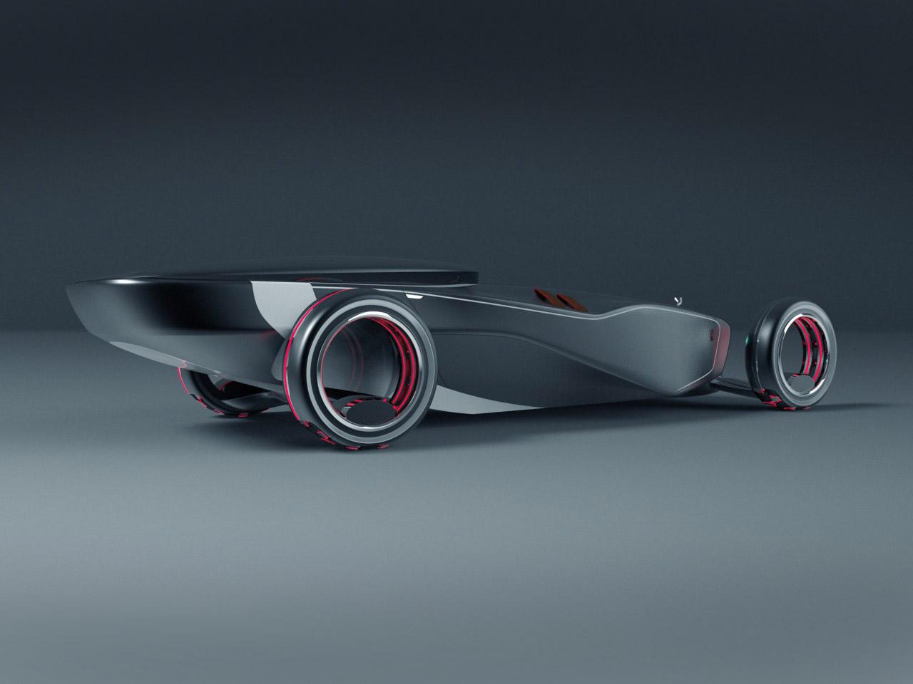 Rolls Royce Eidolon 2030 Concept Car Body Design