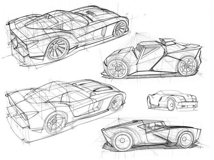 CarDesignPage's car drawing contest - Car Body Design