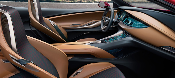 Buick Avista Concept interior in Signet color