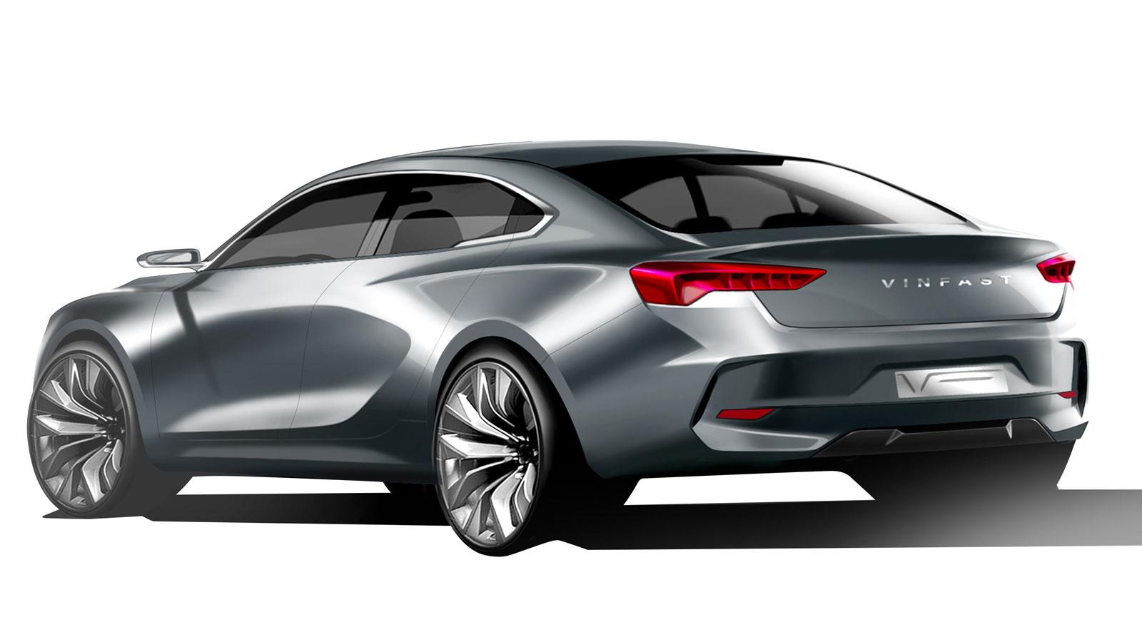 Vinfast Sedan Design Render By Italdesign Car Body Design