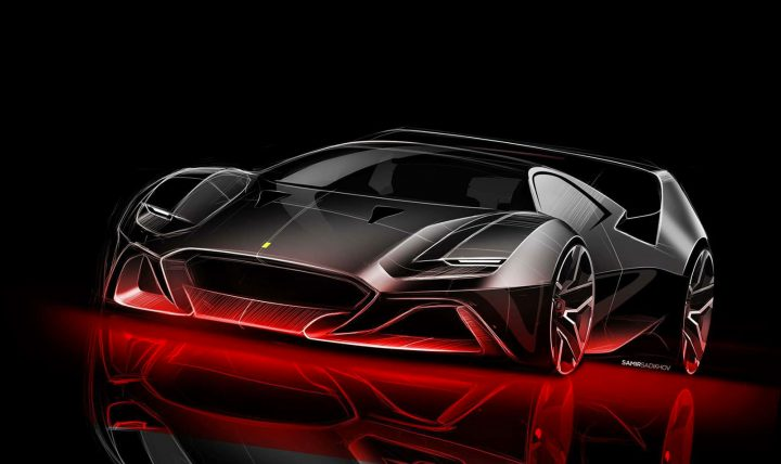 F40 Tribute Concept Pays Homage To The Legendary 1980s