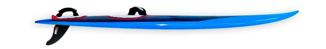 2017 windsurf waveboard rocker line image