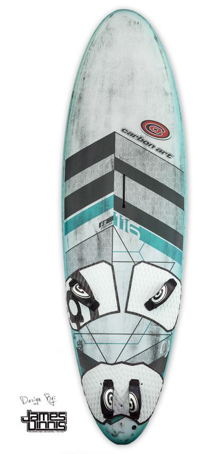Pure Freeride windsurfing joy | Carbon Art Windsurfing
