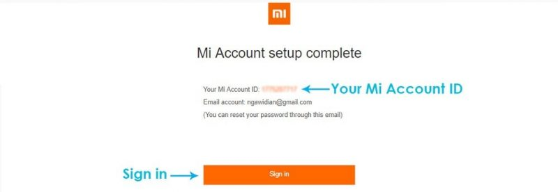 cara membuat akun mi account
