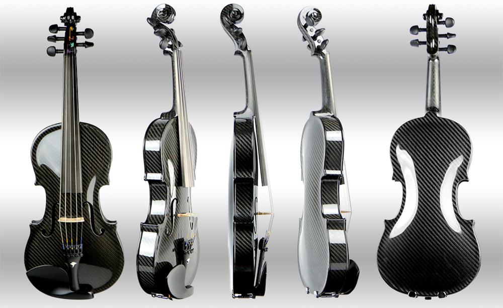 A precision built Carbon Fiber Violin