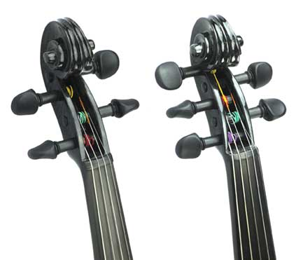 Carbon Fiber Violin Scroll 4 String 5 String