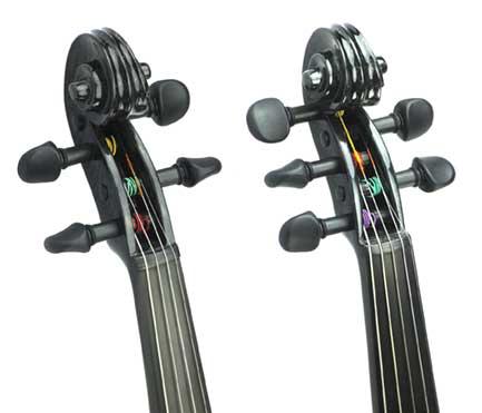 Carbon Fiber Violin Scroll 4 String 5 String