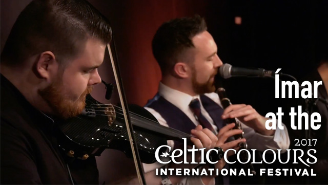 Our friend Tomas Callister plays in the group Ímar here he is playing on his Gayford Carbon Strad with them live at Celtic Colours International Festival
