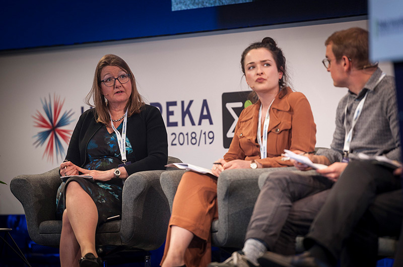 Beverley Gower Jones at the EUREKA Global Innovation Summit