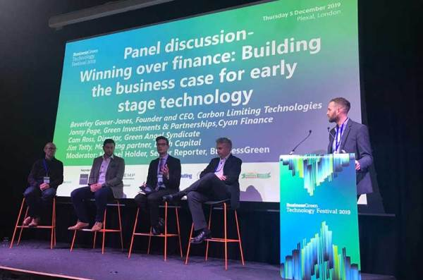 Panelists at the Business Green Technology Festival 2019