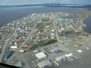 Kotzebue from the bush plane