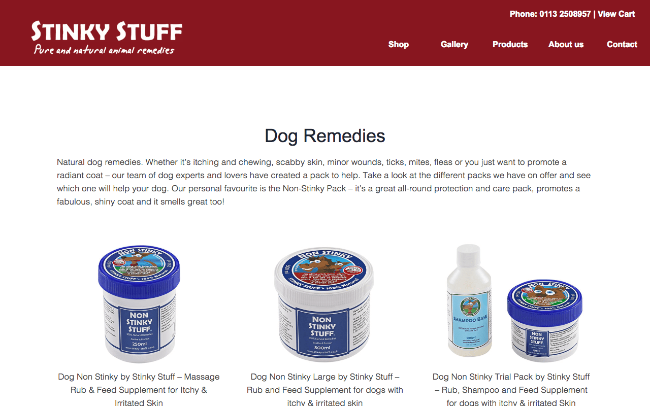 non stinky stuff for dogs
