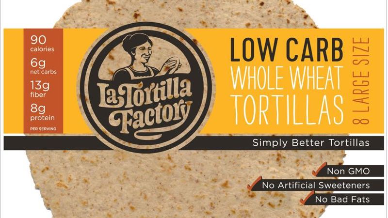 Low Carb Whole Wheat Large Size