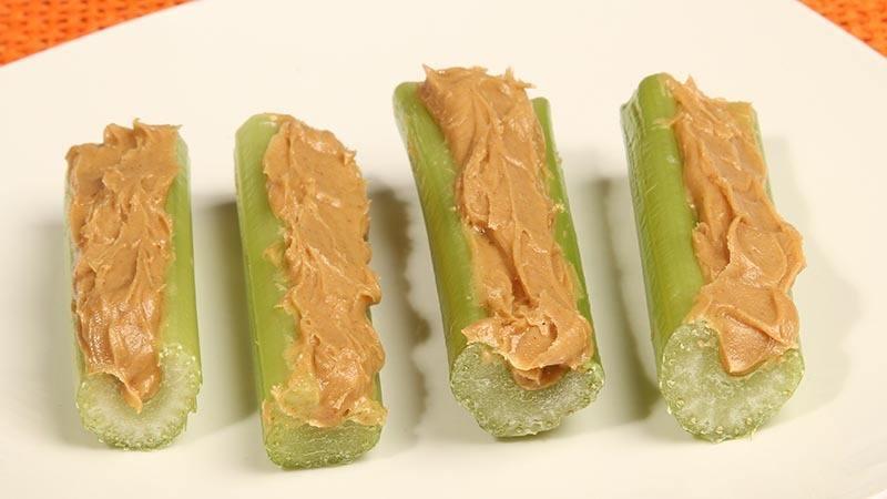 Fat Fast Peanut Butter Stuffed Celery