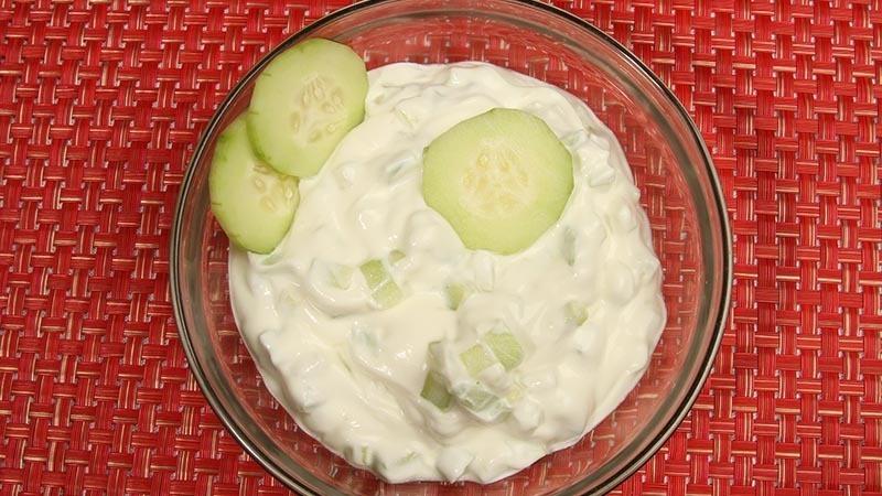 Fat Fast Sour Cream Cucumbers Recipe