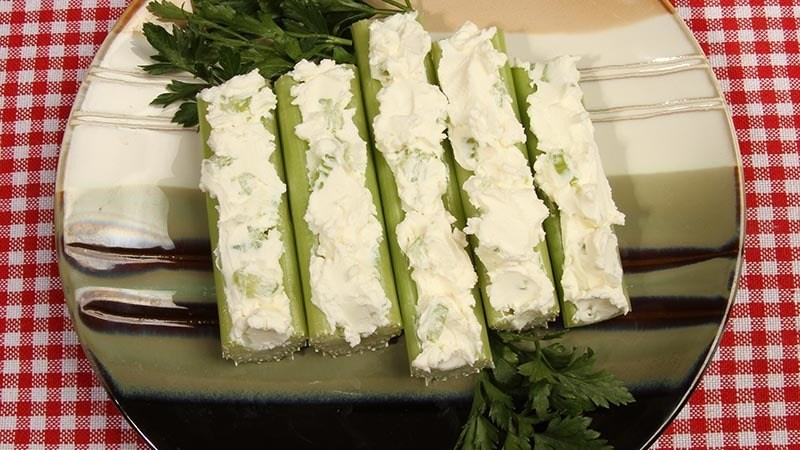 Fat Fast Cream Cheese Stuffed Celery