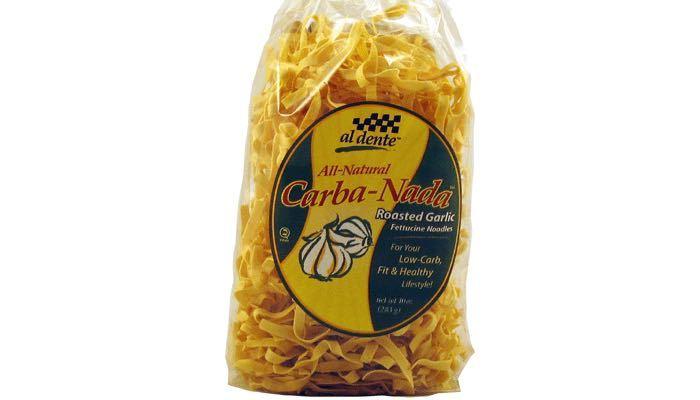 CarbaNada Roasted Garlic Fettuccine