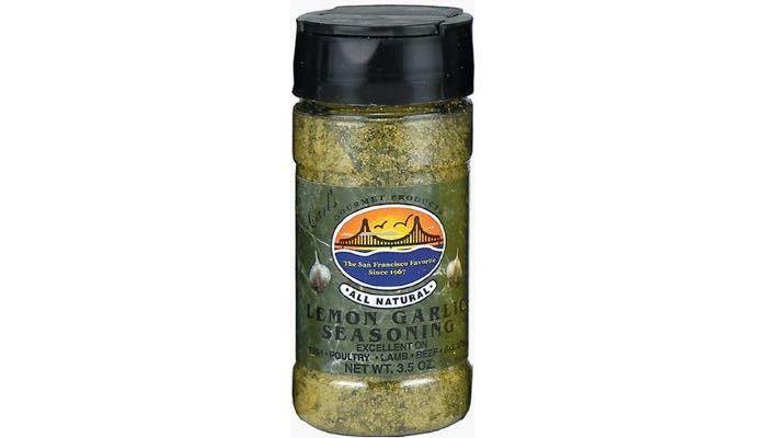 Carl's Gourmet All Natural Lemon Garlic Seasoning and Meat Rub
