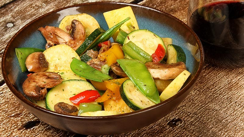 Low-Carb Gluten-Free Mixed Vegetables Recipe