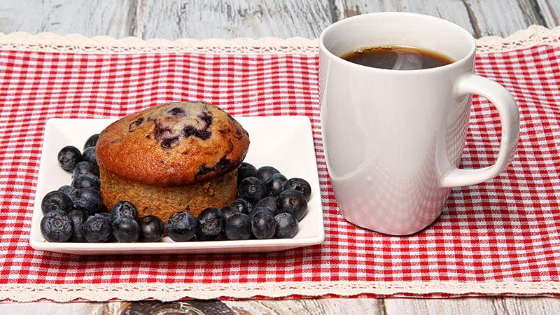 Low-Carb Lemon Blueberry Surprise Muffins Recipe