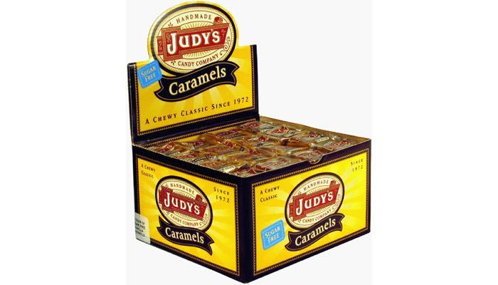 Judy's Candy Co. Sugar Free Caramels Box of 80