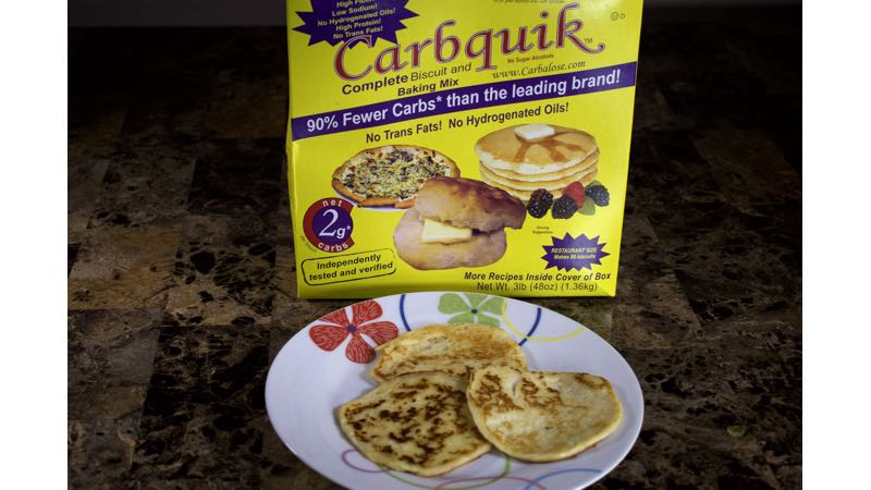 Low Carb Pancake Recipe with CarbQuik