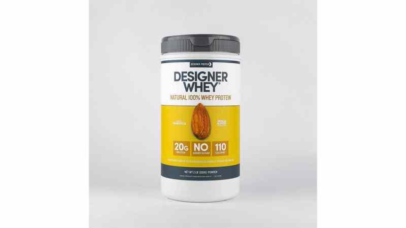 Designer Whey Vanilla Almond 2lb