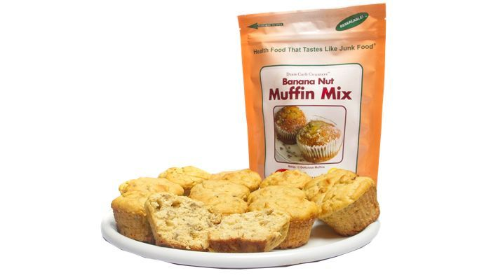 Banana Nut Low Carb Muffin Mix by Dixie Carb Counters
