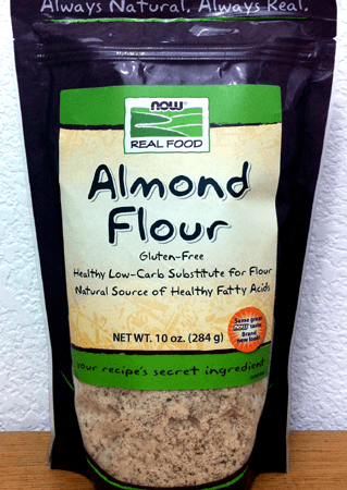 Almond Flour, 10 oz. bag by Now Foods for Low Carb Baking & Gluten Free Baking