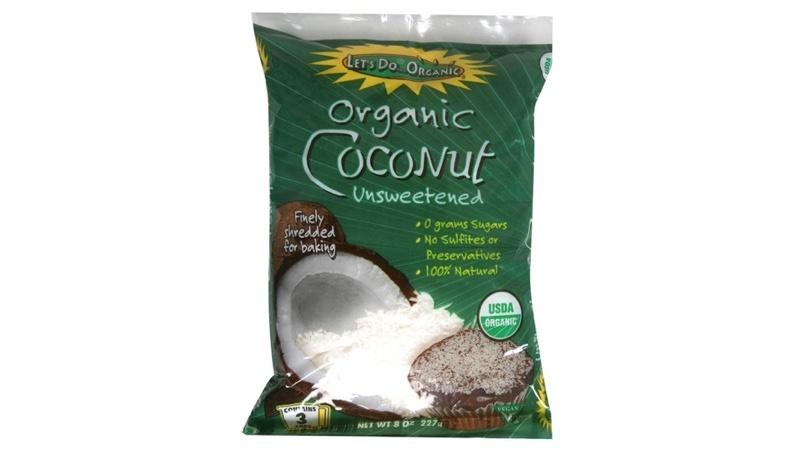 Organic Shredded Coconut 8 oz. bag