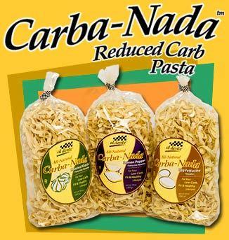 Carba-Nada Low Carb Fettuccine Pasta 10 oz. bag by Al Dente Pasta