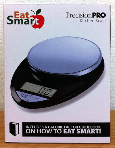 Eatsmart Precision Pro Digital Kitchen Scale Black Chrome