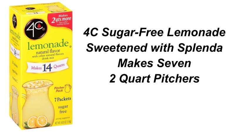 4C Sugar-Free Lemonade