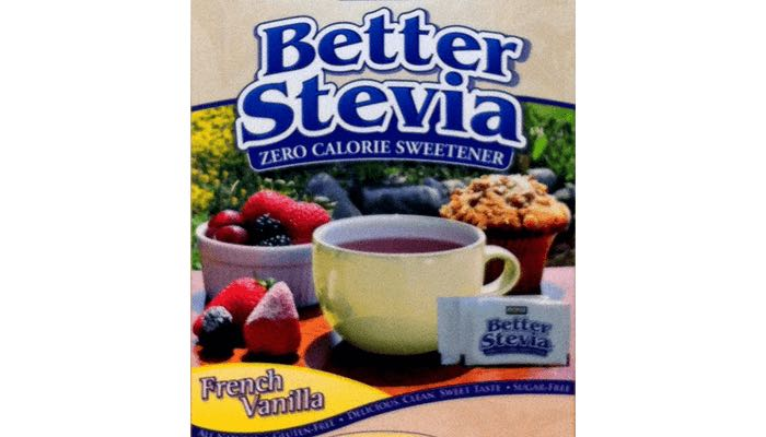 French Vanilla Stevia Extract Packets – 100 Packets/Box by Now Foods