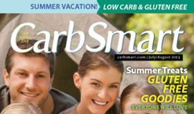 CarbSmart Magazine Issue 05: July/August 2013: Low Carb & Gluten Free